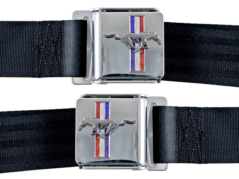 Gordels met Mustang Logo