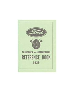 Ford 1939 Reference Book